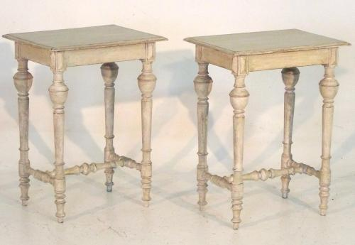 Pair of Swedish Side Tables