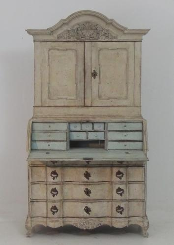 Swedish Baroque Secretaire
