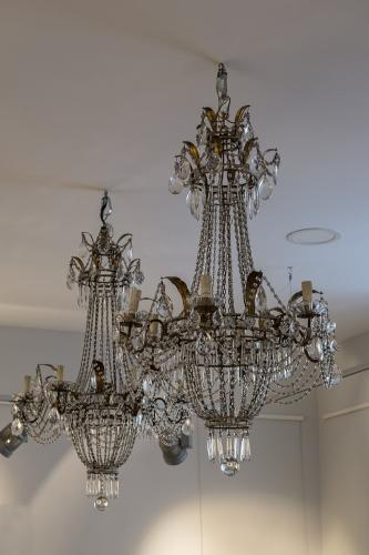 Italian Pair of Chandeliers