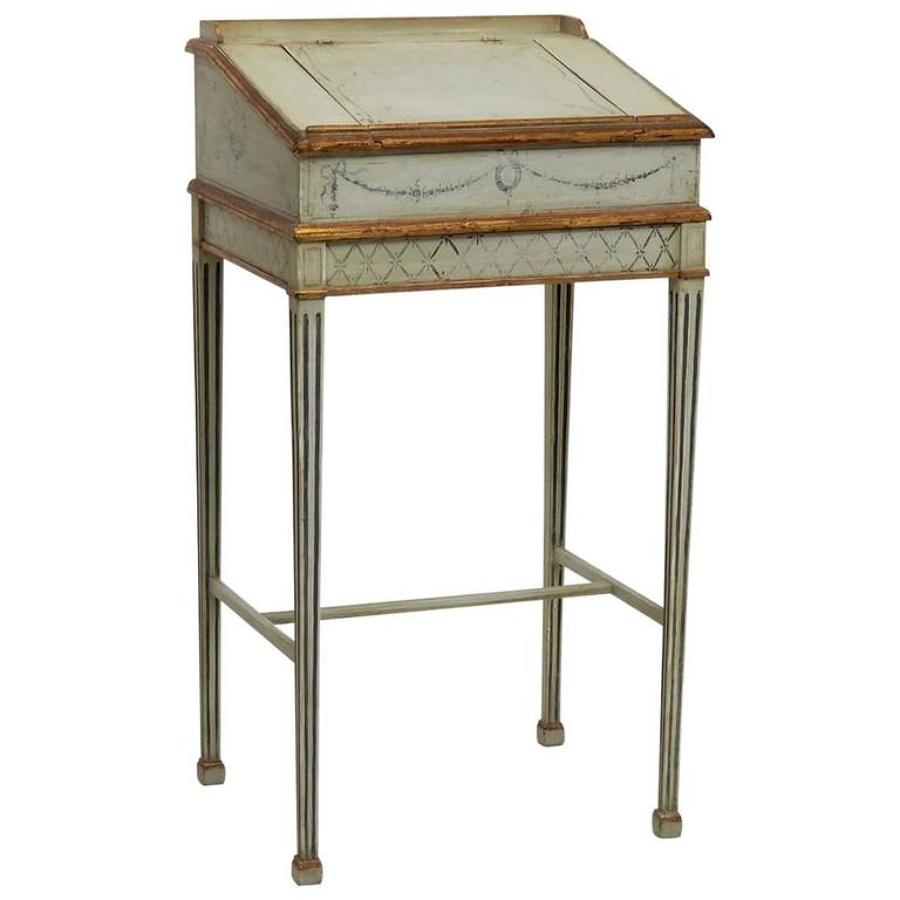 Swedish Stand Writing Desk, 19th Century