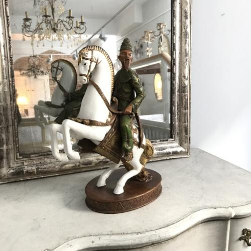 Glazed and Matte Ceramic Figure, Circa 1920-1930
