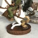 Glazed and Matte Ceramic Figure, Circa 1920-1930 - picture 5