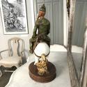 Glazed and Matte Ceramic Figure, Circa 1920-1930 - picture 6