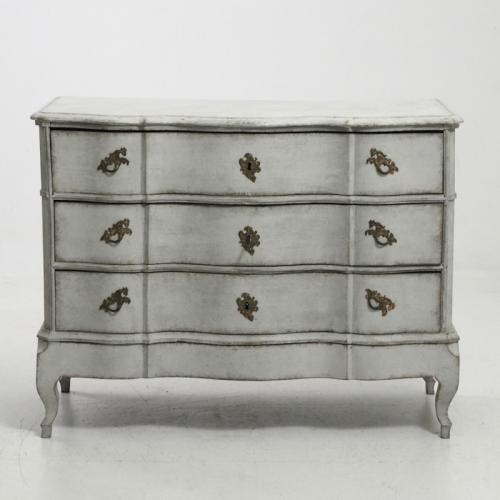 Scandinavian Baroque Chest of Drawers, Circa 1750