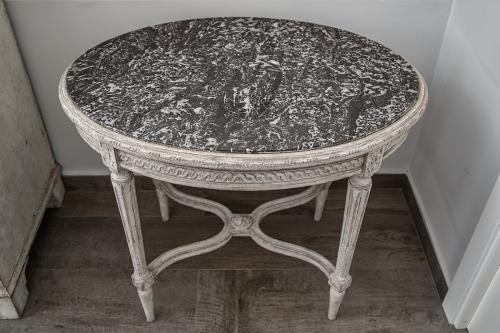 Swedish Gustavian Style Side Table, Circa 1890