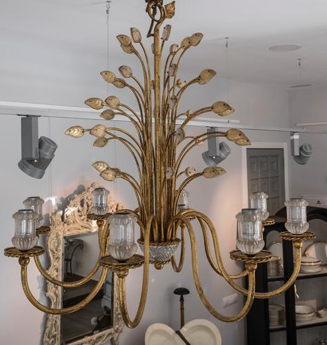 French Maison Baguès Chandelier