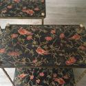 Pair of Italian Lacquered Side Tables - picture 2