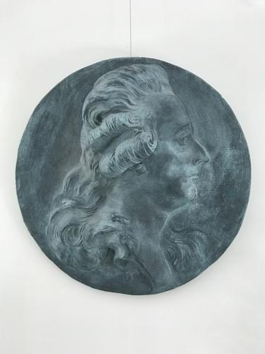 Swedish Plaster Bust of Gustav III, Circa 1900