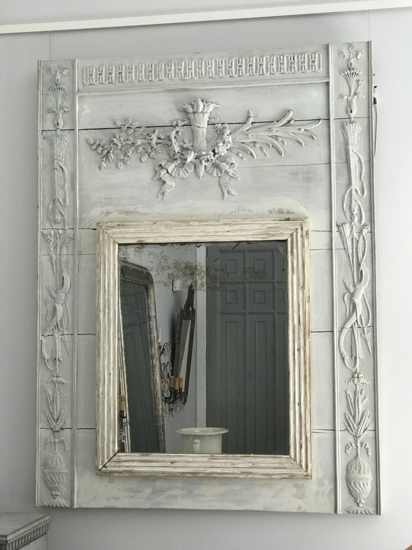 French Trumeau Mirror, Circa 1800
