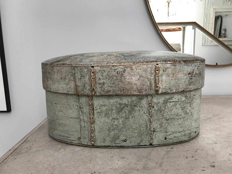 Swedish Storage Box, Circa 1780