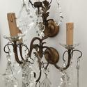 Italian Set of 4 Crystal Wall Lights, Circa 1900 - picture 5