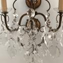 Italian Set of 4 Crystal Wall Lights, Circa 1900 - picture 6