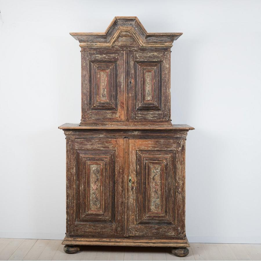 Swedish Baroque Period Cabinet
