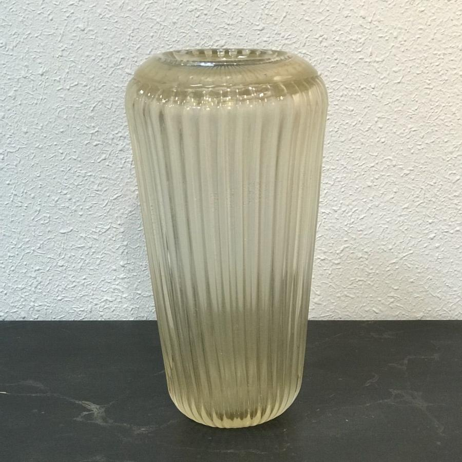 Murano Glass Vase by Fratelli Toso, Circa 1950