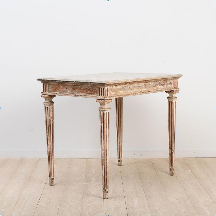 Swedish Gustavian Console Table, Circa 1790