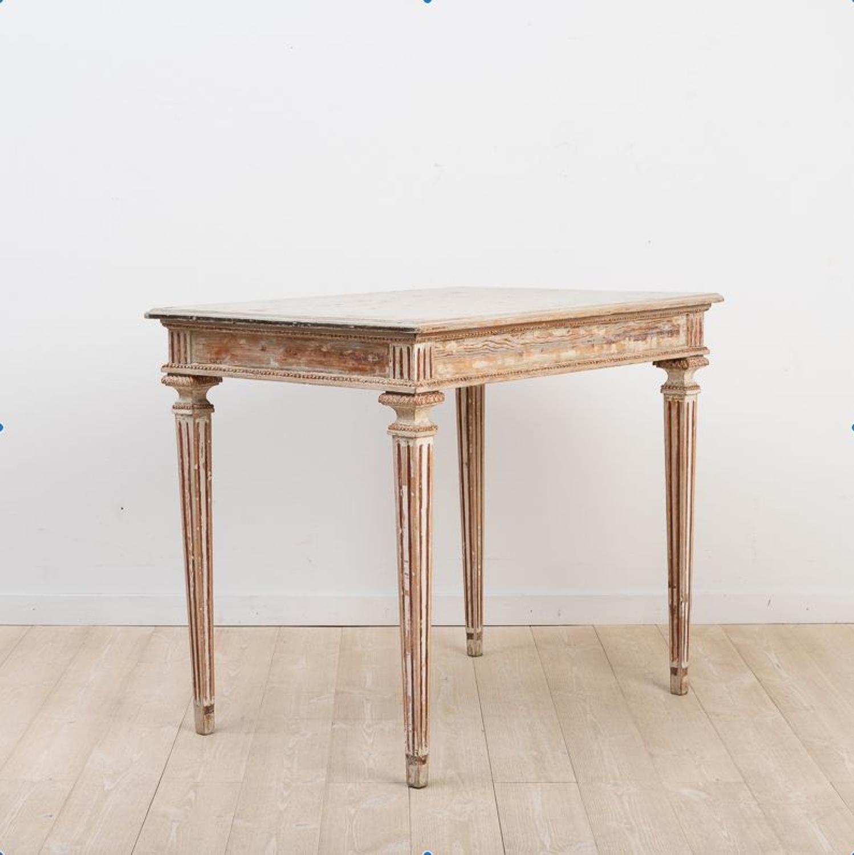 Swedish Gustavian Console Table, Circa 1790