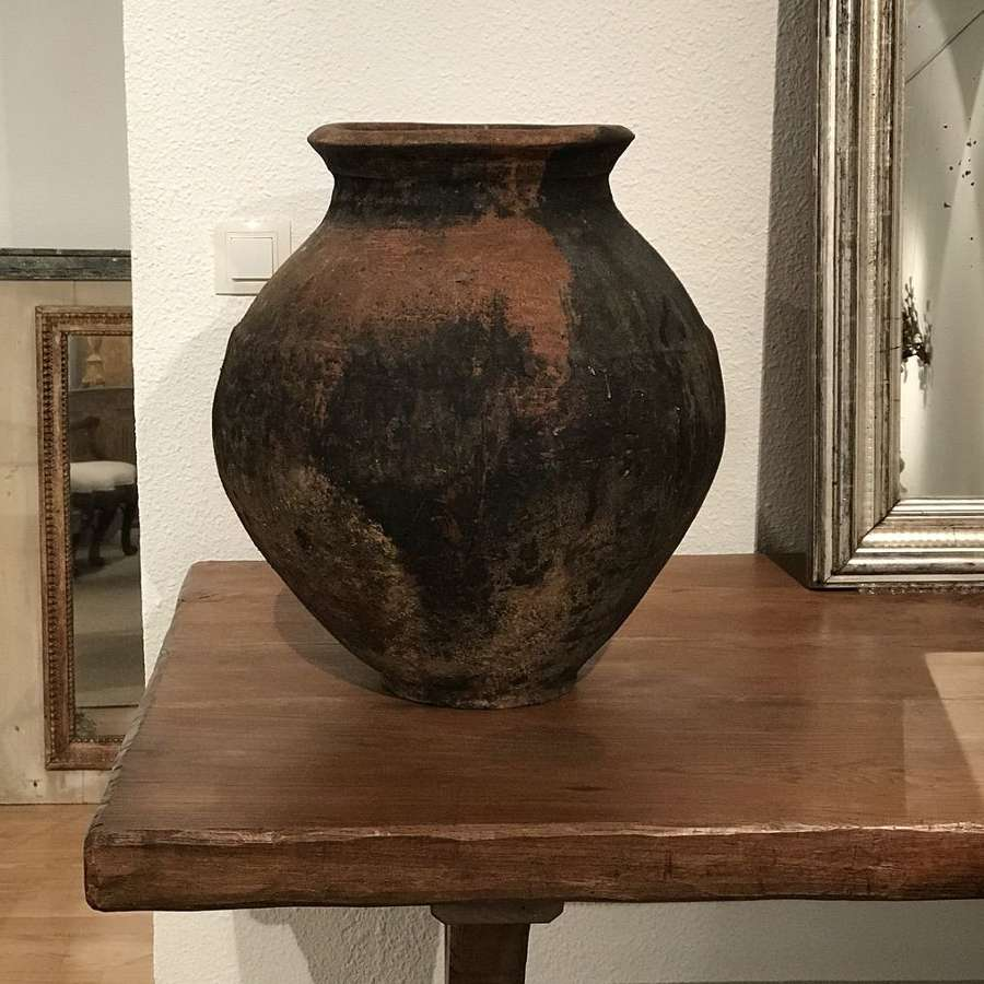 French Large Antique Pot