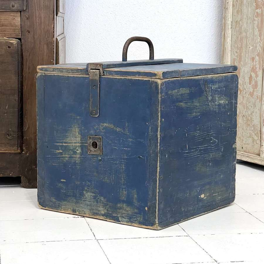 Swedish Folk Art Box, Circa 1870