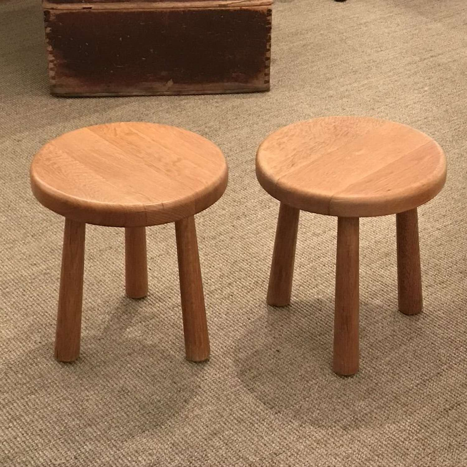 Pair of Stools, 1960s