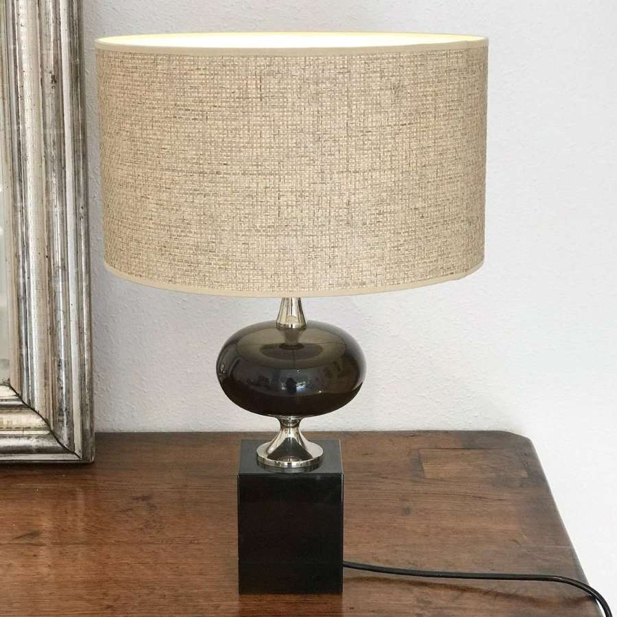 French Maison Barbier Table Lamp, 1970s