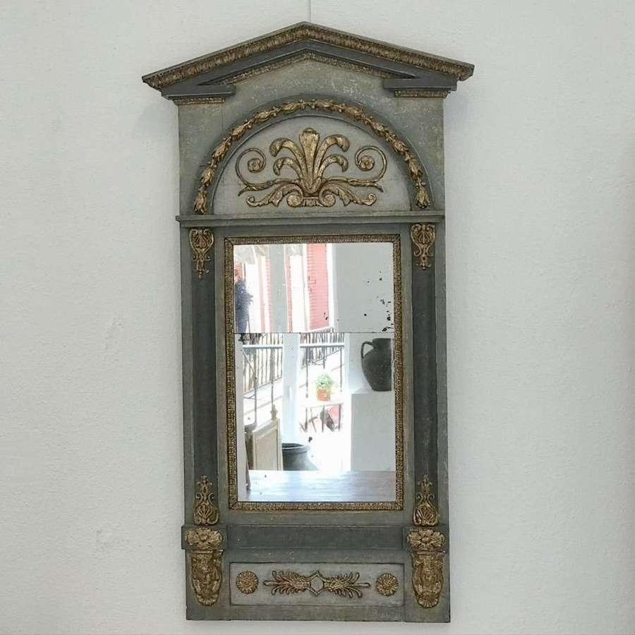 Swedish Empire Mirror, 18th Century