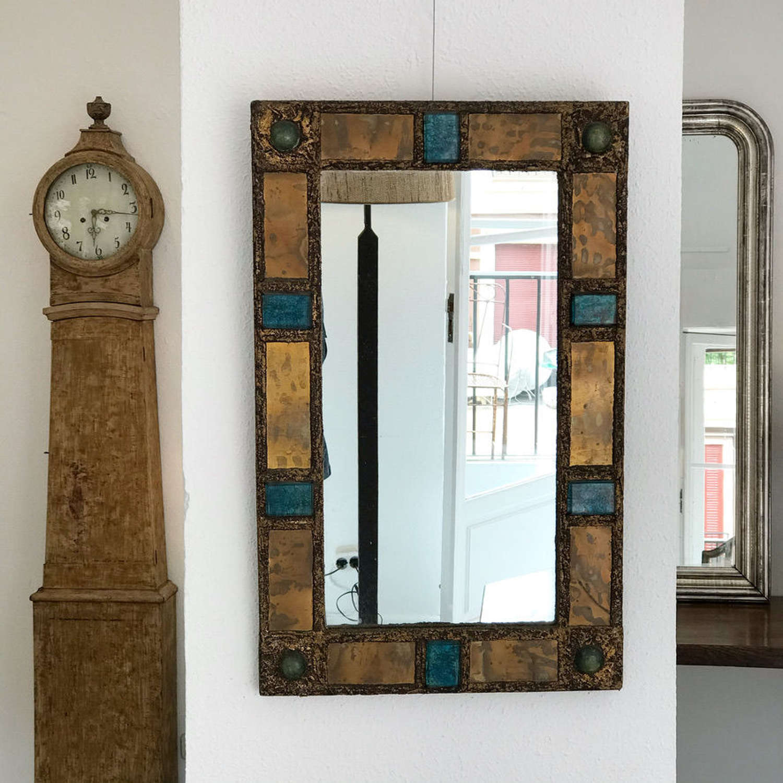 Mirror by Irina Jarworska, 1960s