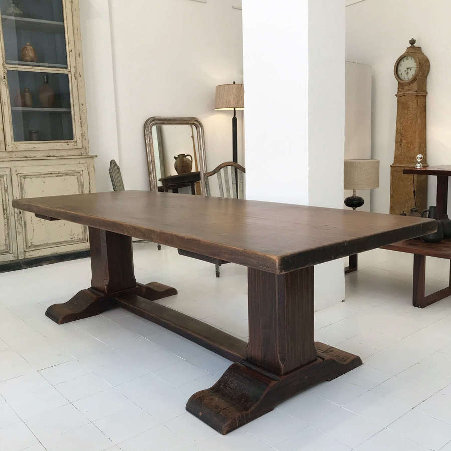 French Refectory Table, 19th Century
