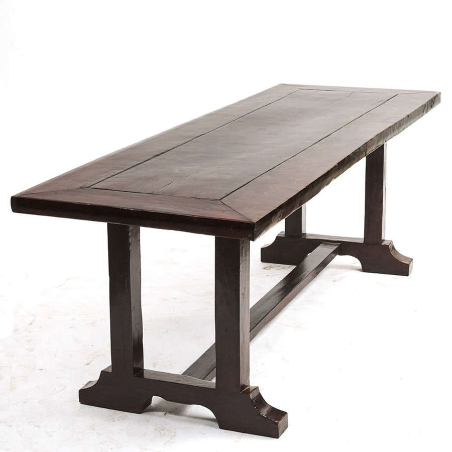 Spanish Colonial Dining Table, 19th Century