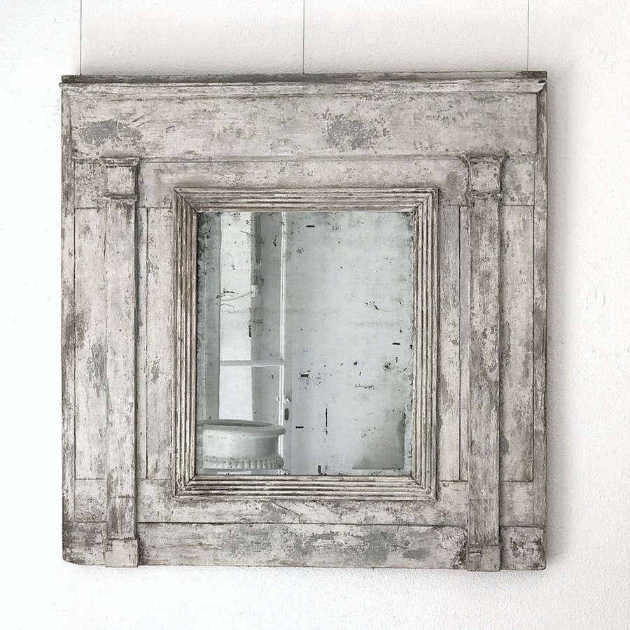 French Trumeau Mirror, 18th Century